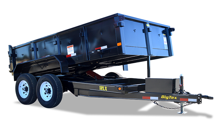 Standard Duty Tandem Axle Extra Wide Dump Trailer
