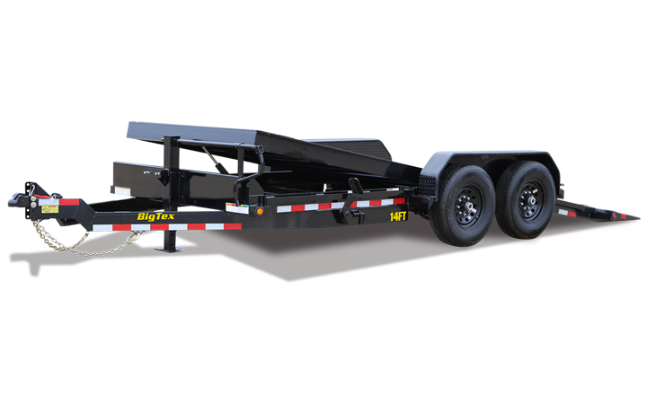 Heavy Duty Full Tilt Bed Equipment Trailer