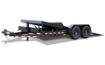 Big Tex 16' Full Tilt Heavy Duty Equipment Trailer 14FT-16BK