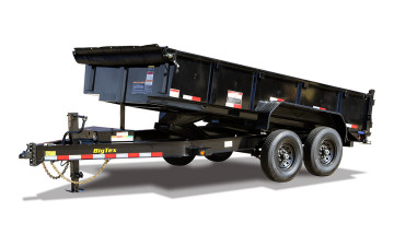 Big Tex 14LP - 7' x 14' 14K Easy Load Low Profile Dump Trailer
