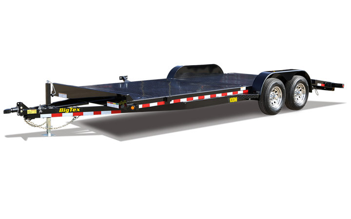 "Big Tex 10DM 83"" x 22 Pro Series Tandem Axle Premium Car Hauler"