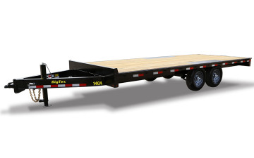 "Big Tex 14OA 102"" x 16 Heavy Duty Over-The-Axle Bumperpull"