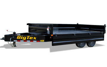 "Big Tex 14OD 96"" x 14 Over the Axle Bumper Pull Dump"