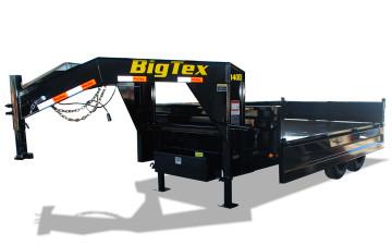 "Big Tex 14OD-GN 96"" x 14 Over the Axle Gooseneck Dump"