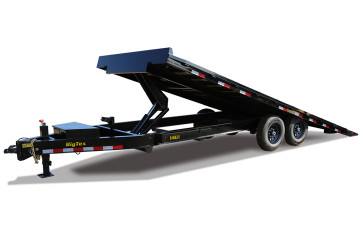 Big Tex Heavy Duty Over-the-Axle Tilt Bed Equipment