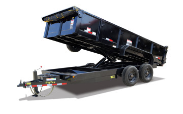 Big TeX Super Duty Tandem Axle Extra Wide Dump