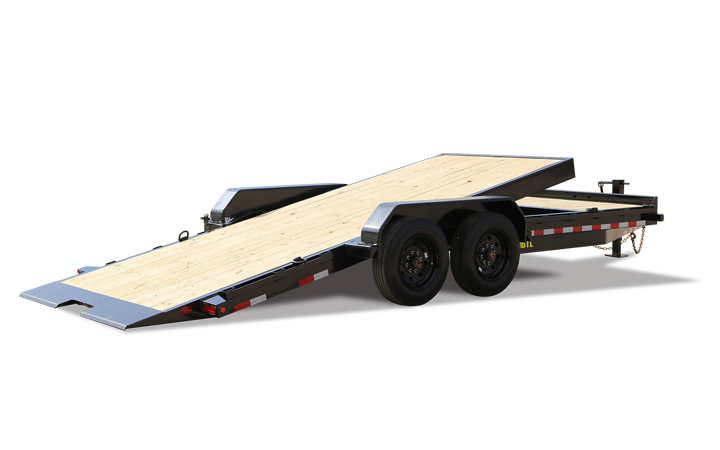 "Big Tex 16TL 83"" x 22 (16 + 6) Super Duty Tilt Bed Trailer"