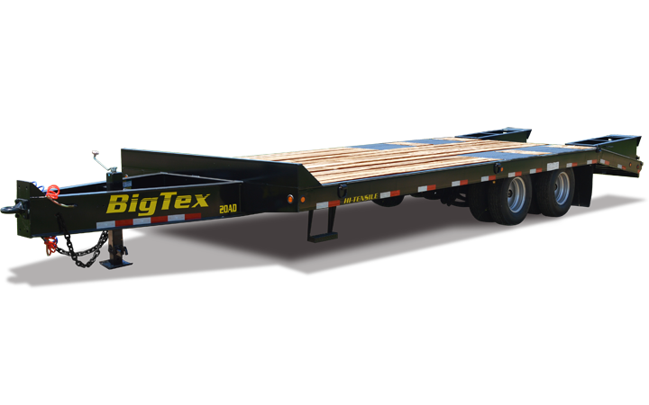 Pintle Equipment Transport Trailer