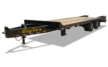 Big Tex 20PH 20,000#,TD,PH,(8 1/2 x 20 + Black,Dovetail with 5 Fold-up