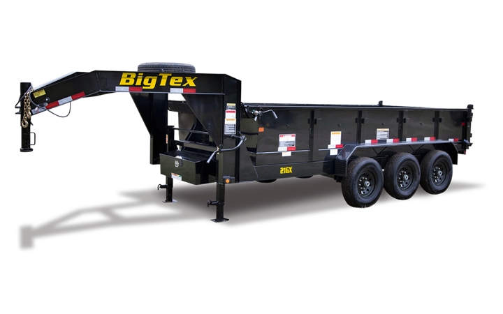 Triple Axle Extra Wide Dump Trailer