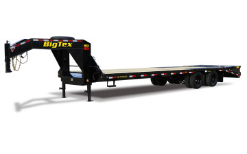 Gooseneck, Flatbed with Tandem Dual by Big Tex