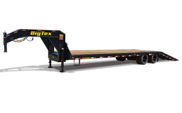 "Big Tex 22GN-HDTS 102"" x 40 (31 + 9) TD Gooseneck w/ Hydraulic Dovetail"