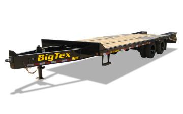 "Big Tex 22PH 102"" x 20 + 5 Tandem Dual Wheel Pintle"