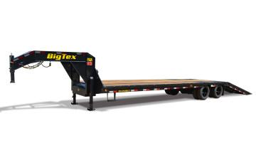 Big Tex Heavy Duty Tandem Dual Wheel GN Hydraulic Dovetail Trailer