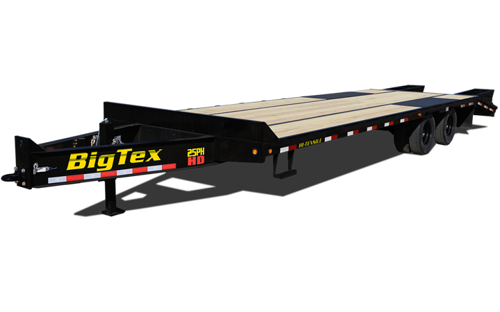 Heavy Duty Tandem Dual Axle Pintle Trailer