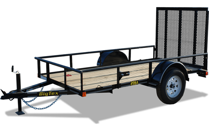 Economy Single Axle Utility Trailer