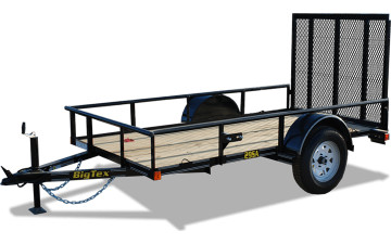 "Big Tex 29SA 60"" x 10 Economy Single Axle Utility Trailer"