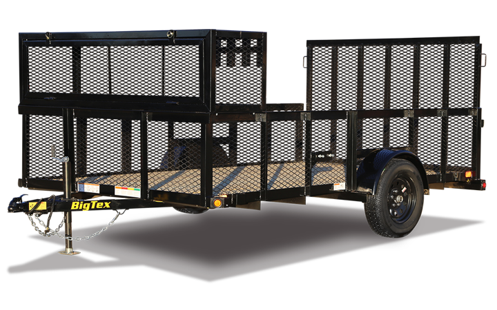 "35LS-77"" x 12 Single Axle Landscape Trailer"