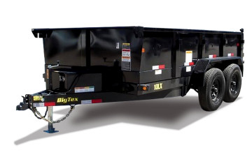 Big Tex Pro Series Tandem Axle Extra Wide Dump Trailer