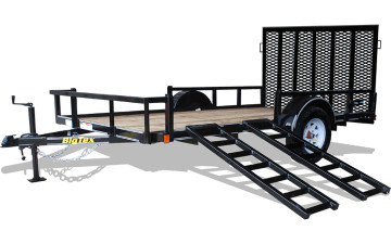 Big Tex 35SA-RS Single Axle ATV Trailer
