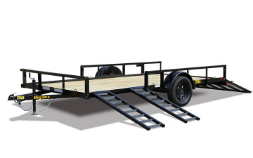 Big Tex 35SA-RSX Single Axle ATV Trailer