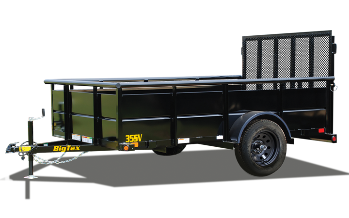 Single Axle Vanguard Trailer
