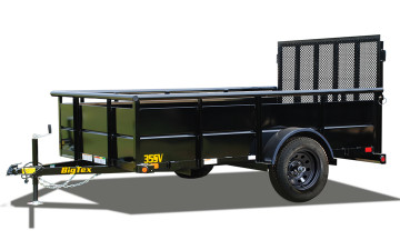 "Big Tex 35SV-77"" x 12 Single Axle Vanguard Trailer"