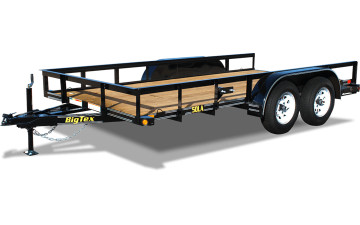 Big Tex 50LA-18 Tandem Axle Angle Iron Utility #94220