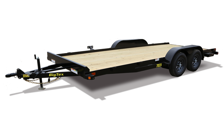 "Big Tex 70CH 83"" x 18 Tandem Axle Car Hauler"