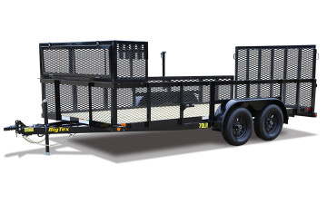 "Big Tex 70LR-83"" x 16 Tandem Axle Landscape Trailer"