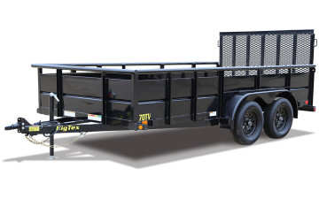 "Big Tex 70TV 83"" x 12 Tandem Axle Vanguard Trailer"