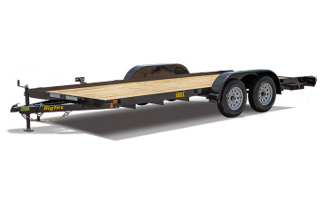 Big Tex 16' Economy Style Car Hauler with Brakes on 2 Axles 60EC-16BK2B