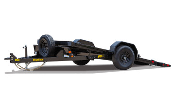 "Big Tex 70ST 7K SINGLE AXLE TILT  (81""x13) BLACK"