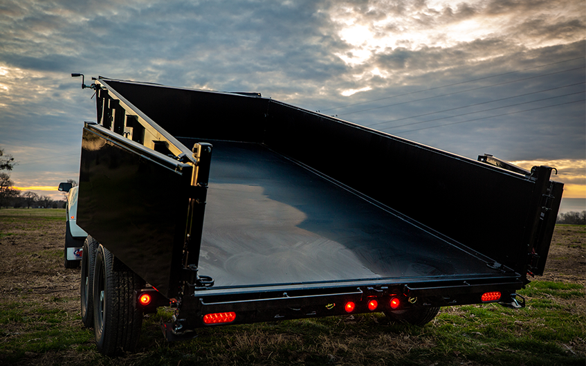 Low Profile Dump Trailers
