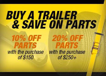 Buy a Trailer & Save on Parts