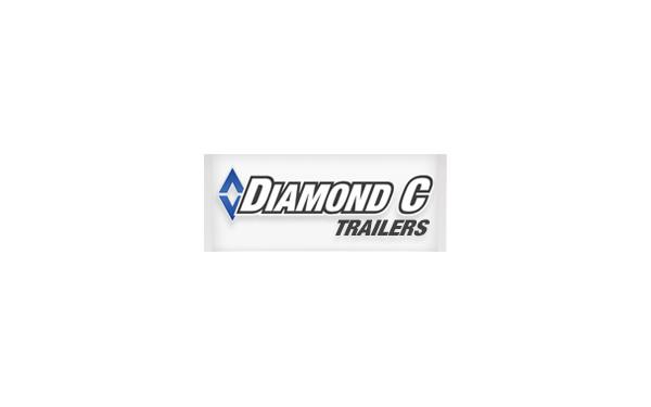 #17163 GTF252 18X82 DIAMOND C CARHAULER TRAILER 10400 GVWR