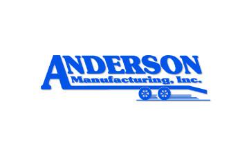 8'x20' Anderson 10T Gooseneck Dump