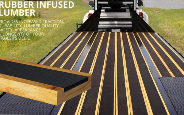 New Trailer Trends: Rubber-Infused Wood, Black Rims, And More