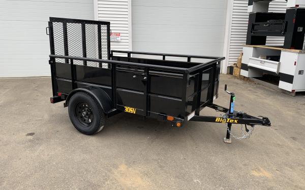 2019 Big Tex 30SV 5x8 24 inch solid sides
