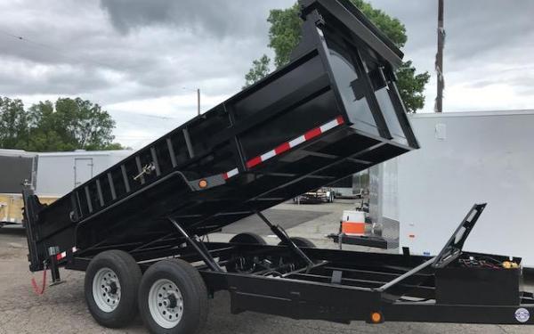 Quality Steel and Aluminum 83x14  14K Dump Trailer
