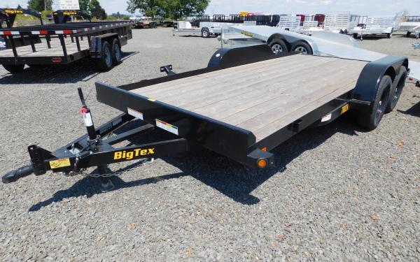 Big Tex 70CH 7' x 16' 7K Tandem Axle Auto Hauler