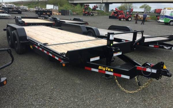 Big Tex 14TL 20' Heavy Duty Tilt Bed Equipment Trailer -ON SALE