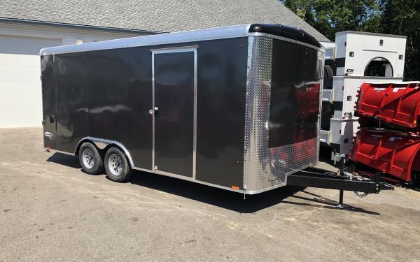 2020 Look Element SE 85x18 Enclosed trailer Landscaper ready 7K GVWR