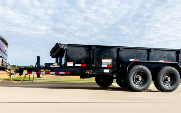 "Big Tex 14LP 14K TAND LP DUMP 83""x14 6SIR Black"