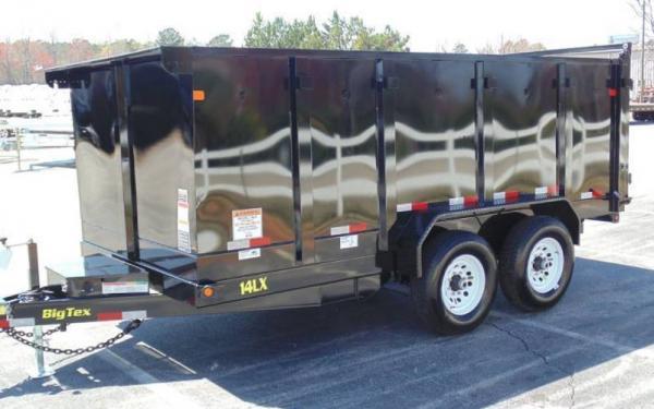 High Sides Dump 14LX -14' Tandem Axle Low Profile Dump