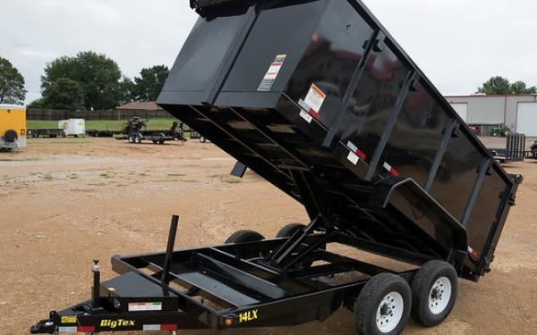 HIGH SIDES DUMP  14LX -14' Tandem Axle Low Profile Dump