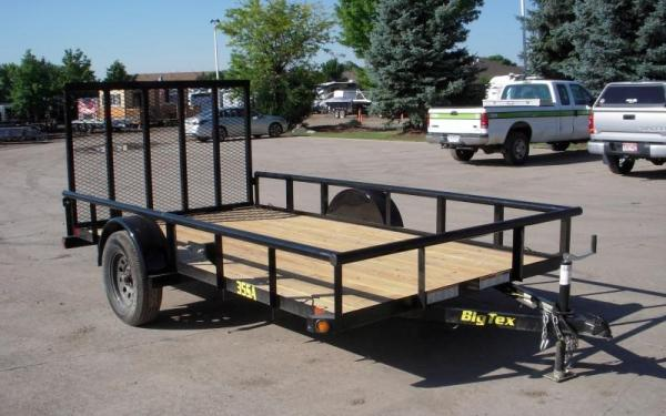 Big Tex 35SA-14 Single Axle Utility Trailer