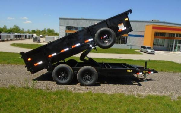 Big Tex 14LX-12 Heavy Duty Tandem Axle Extra Wide Dump