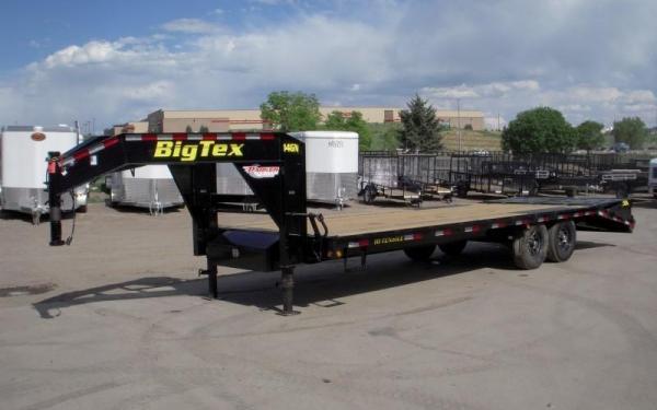 Big Tex 14GN,(8 1/2 x 20 +5 Black,5DT with 2-MegaRamps
