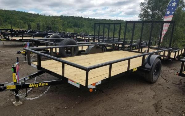 Big Tex 35SA-14 Utility Trailer